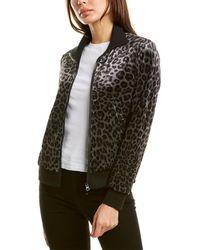 Pam & Gela Leopard Track Jacket - Green