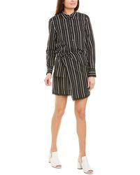 10 Crosby Derek Lam Eunice Shirtdress - Black