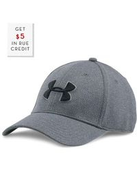 Under Armour Men's Heather Blitzing Cap With $5 Rue Credit - Grey