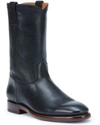 Frye Weston Leather Boot - Blue