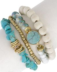 Saachi - Set Of Bracelets - Lyst