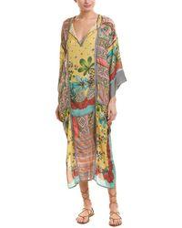 Johnny Was - Silk Kimono Dress - Lyst