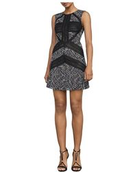 BCBGMAXAZRIA Tasha Sheath Dress - Black
