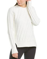 10 Crosby Derek Lam Cable-knit Sweater - White