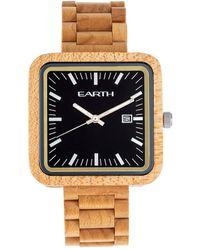 Earth Wood Unisex Berkshire Watch - Multicolour