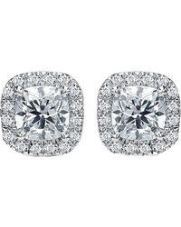 Diana M. Jewels . Fine Jewelry 18k 1.00 Ct. Tw. Diamond Studs - Multicolor