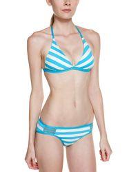 Ella Moss - Blue Cabana Stripe Retro Bottom - Lyst
