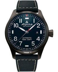 Alpina Startimer Pilot Watch - Black