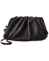 Bottega Veneta Leather Coin Purse - Black