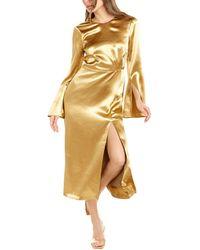 Cinq À Sept Paulena Maxi Dress - Metallic