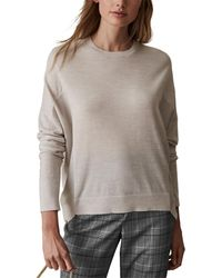 Reiss Darcia Wool Jumper - Grey