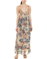 Raga Tropic Vibes Maxi Dress - Natural