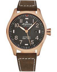 Alpina Startimer Pilot Watch - Metallic