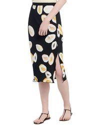 NIC+ZOE Lemon Squeeze Skirt - Black