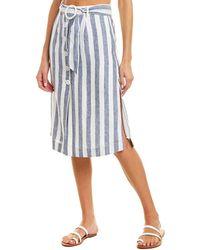 Suboo Newport Midi Skirt - Blue