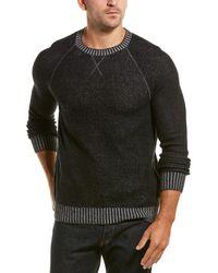 Benson Wool & Cashmere-blend Crewneck Jumper - Black
