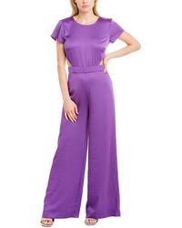 Ba&sh Rani Jumpsuit - Purple