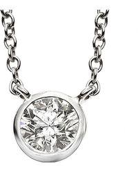 Nephora - 14k 0.10 Ct. Tw. Diamond Necklace - Lyst