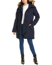 Canada Goose Rossclair Down Parka - Blue