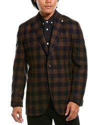 Lubiam Jack Wool-blend Sportscoat - Brown