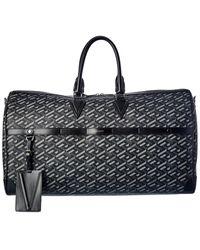 Versace La Greca Signature Duffel Bag - Black