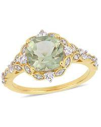 Rina Limor Fine Jewellery 14k 2.50 Ct. Tw. Diamond & Gemstone Ring - Metallic
