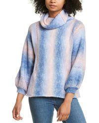 Fate Blouson Sweater - Blue