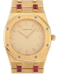 Audemars Piguet Audemars Piguet Diamond Watch - Metallic