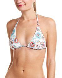 Helen Jon String Bikini Top - Multicolor