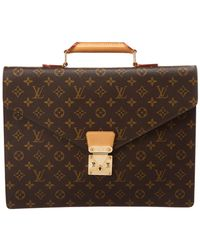 Louis Vuitton - Monogram Canvas Serviette Conseiller - Lyst
