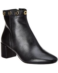 French Sole - Katy Leather Bootie - Lyst