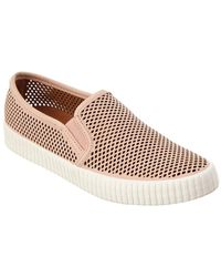 Frye - Camille Perforated Suede Sneaker - Lyst