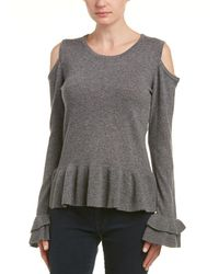 Quinn Qi Cashmere Sweater - Gray