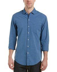 DL1961 - The Blue Shirt Shop Slim Fit Woven Shirt - Lyst