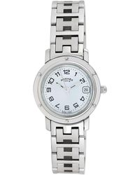Hermès Hermes Women's Clipper Watch, Circa 1990s - Metallic
