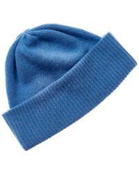 Portolano Cashmere Hat - Blue
