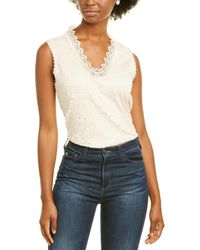 Karl Lagerfeld Lace Top - White