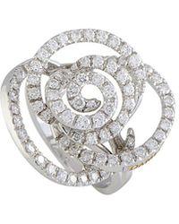 Damiani Certified 18k 1.44 Ct. Tw. Diamond Ring - Metallic