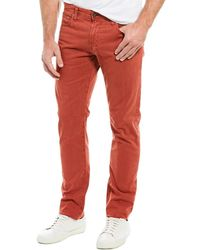 AG Jeans The Dylan Red Slim Skinny Leg