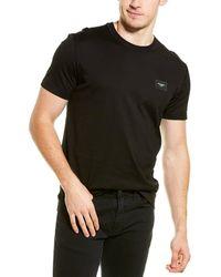 Dolce & Gabbana Logo Plaque T-shirt - Black