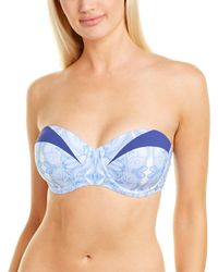 Paolita Aluna Bikini Top - Blue