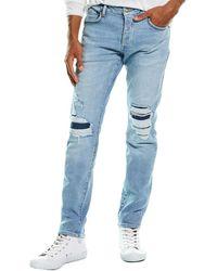 Neuw Iggy Establishment Rip Skinny Leg Jean - Blue