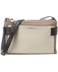 Fiorelli Brie Leather Crossbody - Brown