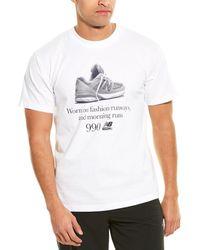 New Balance Fashion Top - White