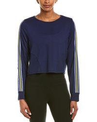 Splendid Split Back Pullover - Blue