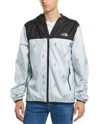 The North Face Printed Cyclone Hoodie - Gray