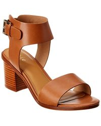 Joie Bea Leather Sandal - Brown