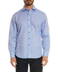 Robert Graham - Cyprus Classic Fit Linen-blend Woven Shirt - Lyst