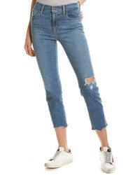 Levi's 724 Medium Blue High-rise Straight Leg Jean