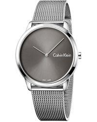 Calvin Klein Minimal Gents Watch K3m211y3 - Metallic